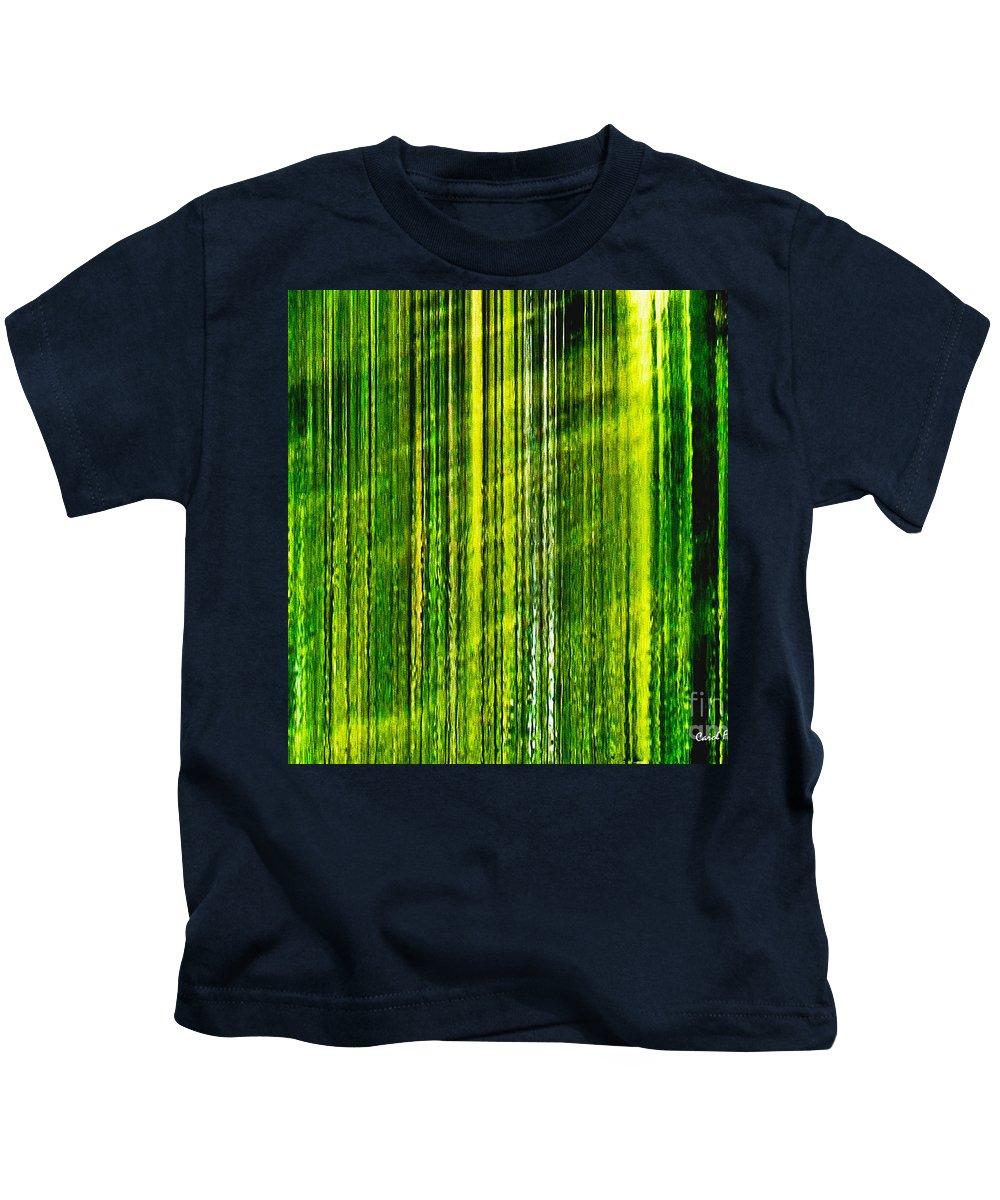 Weeping Willow Tree Kids T-Shirt featuring the photograph Weeping Willow Tree Ribbons by Carol F Austin