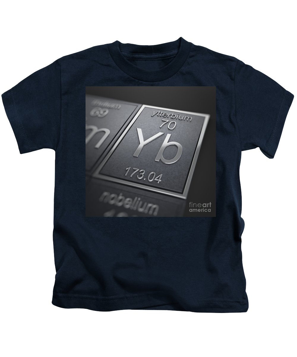 Ytterbium Kids T-Shirt featuring the photograph Ytterbium Chemical Element by Science Picture Co