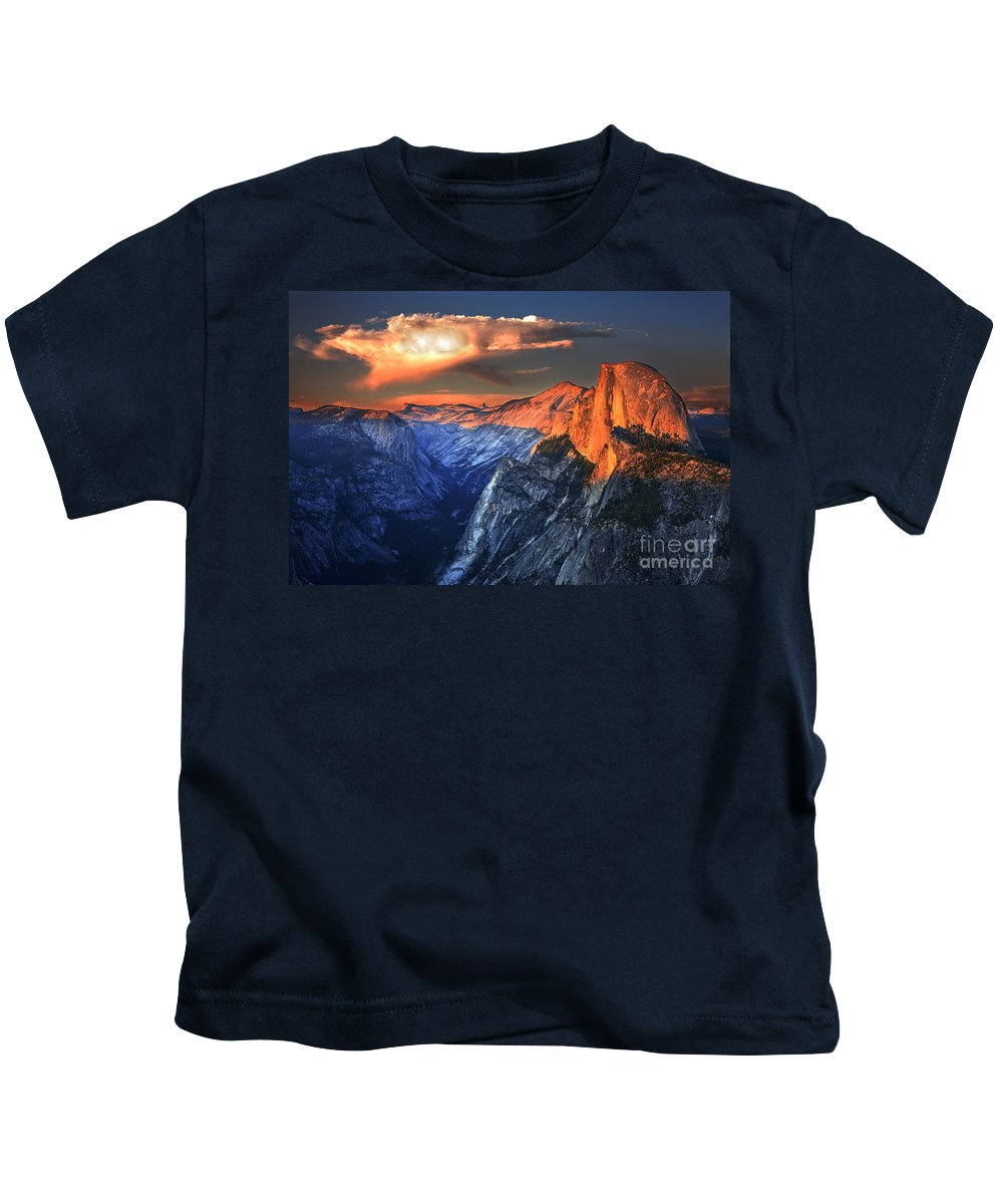 Yosemite Kids T-Shirt featuring the photograph Yosemite by Daniel Knighton