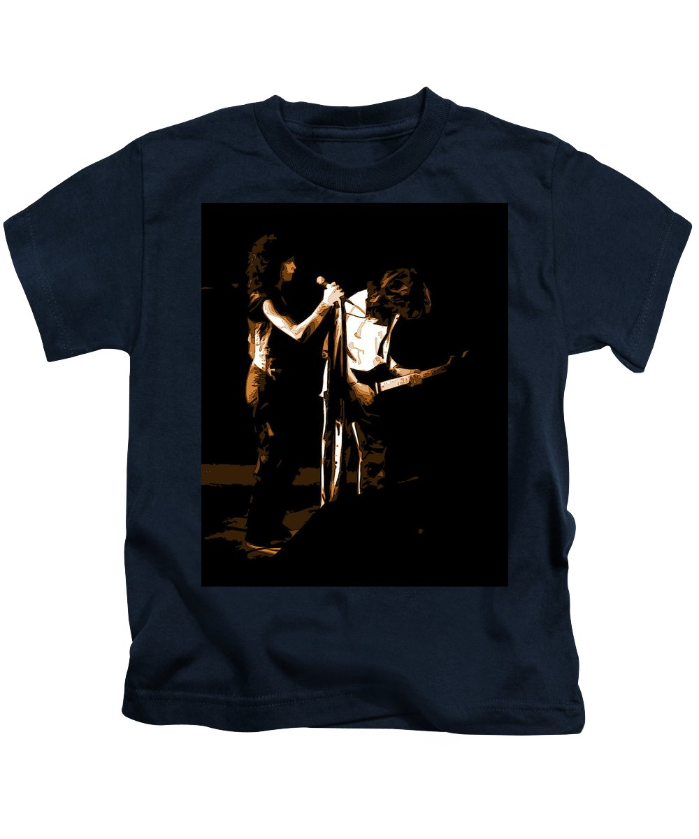 Aerosmith Kids T-Shirt featuring the photograph Aerosmith In Spokane 31b by Ben Upham