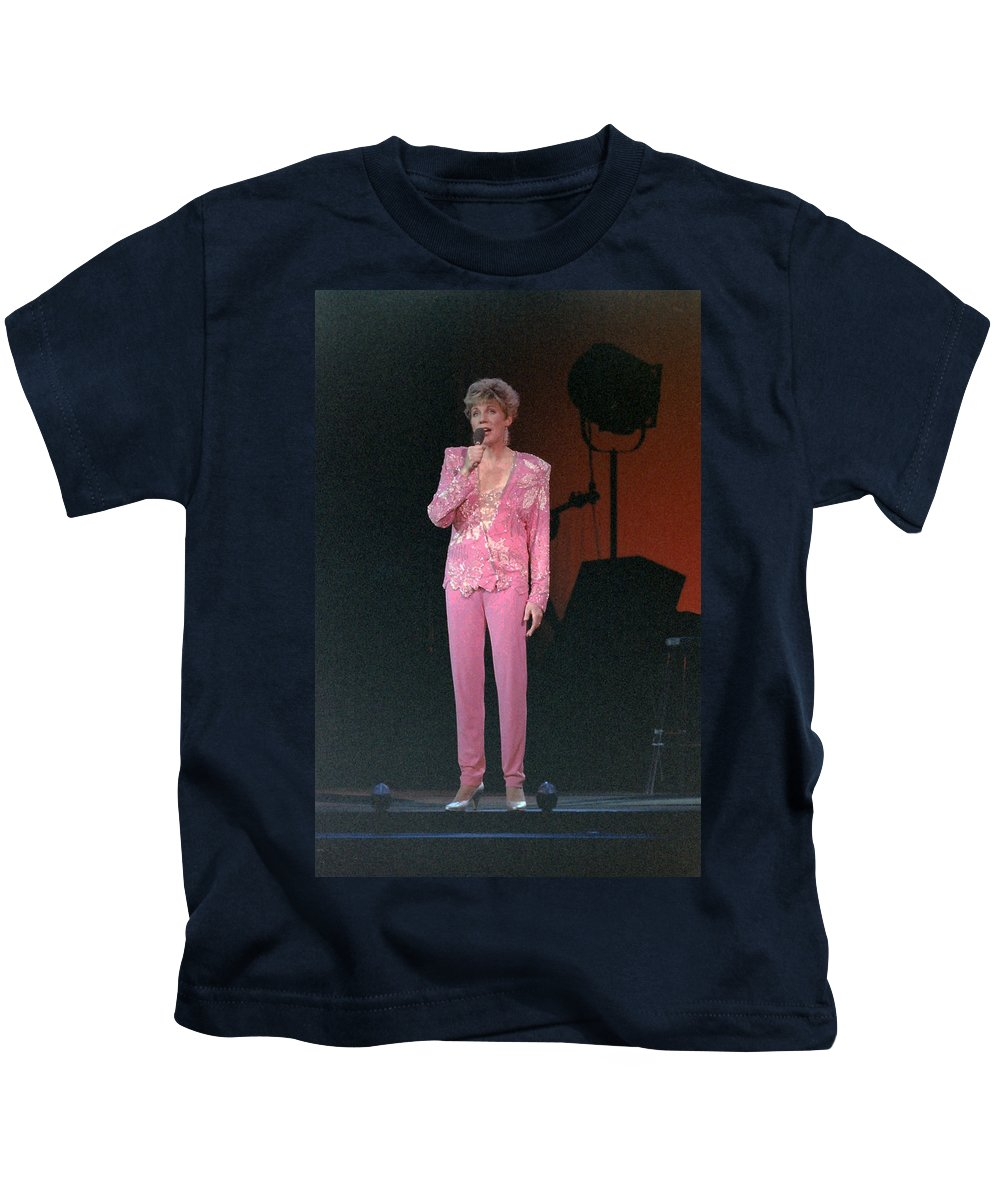Music Kids T-Shirt featuring the photograph Anne Murray by Mike Martin