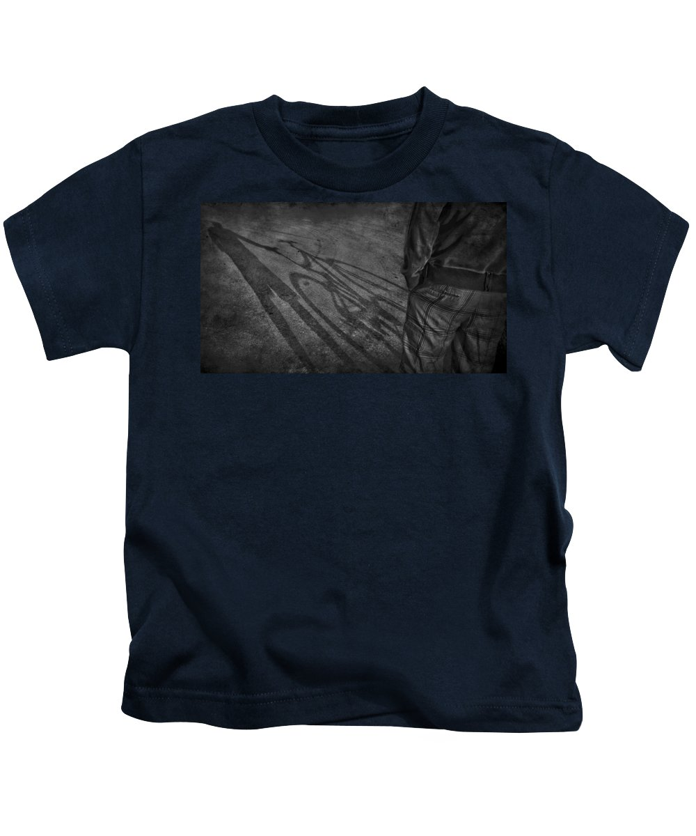 Jerry Cordeiro Kids T-Shirt featuring the photograph Bike Ride Two by The Artist Project