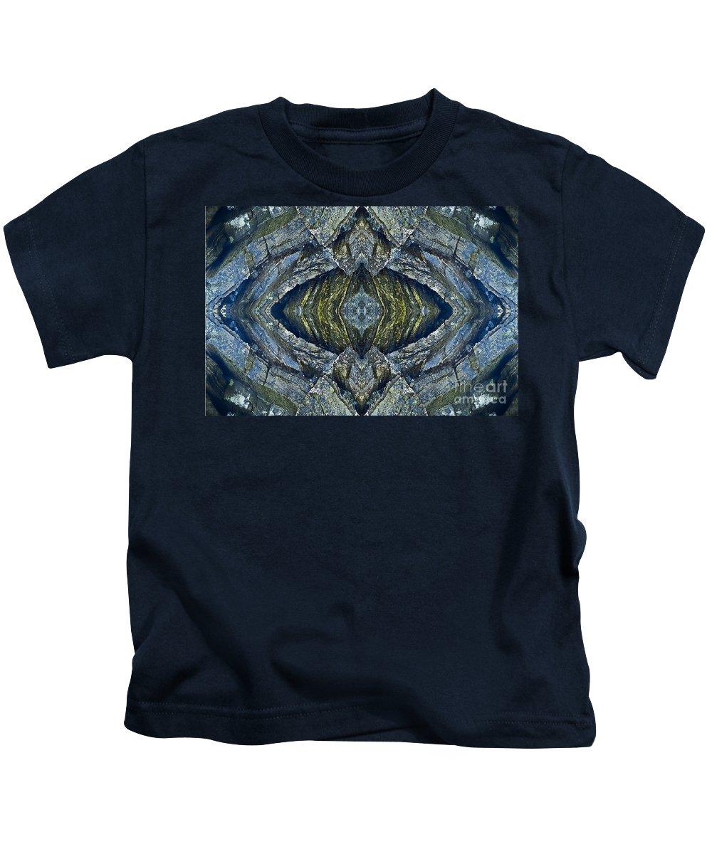 Nature Kids T-Shirt featuring the photograph Blue Eye by Heiko Koehrer-Wagner