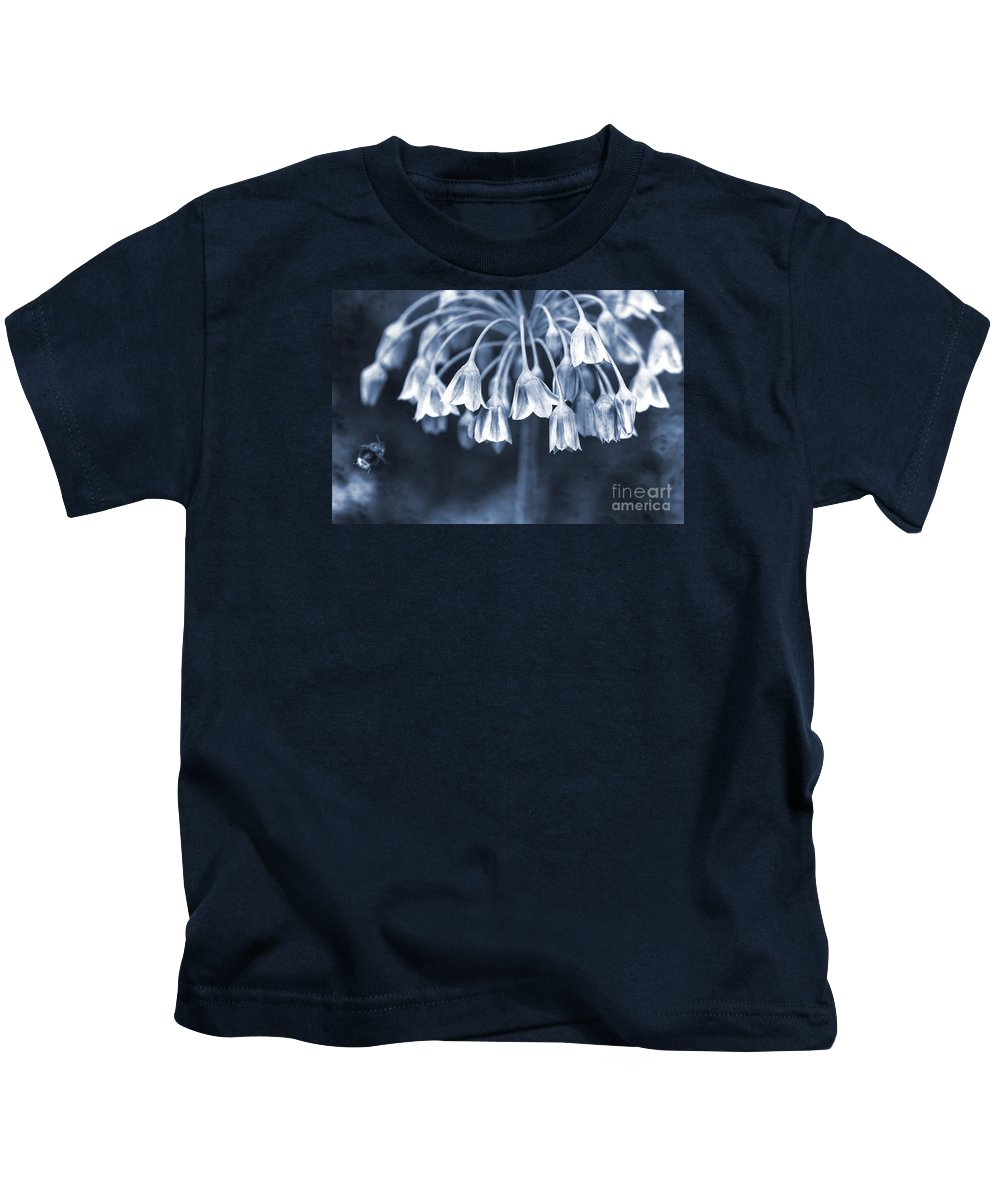 Clare Bambers Kids T-Shirt featuring the photograph Coming In To Land by Clare Bambers