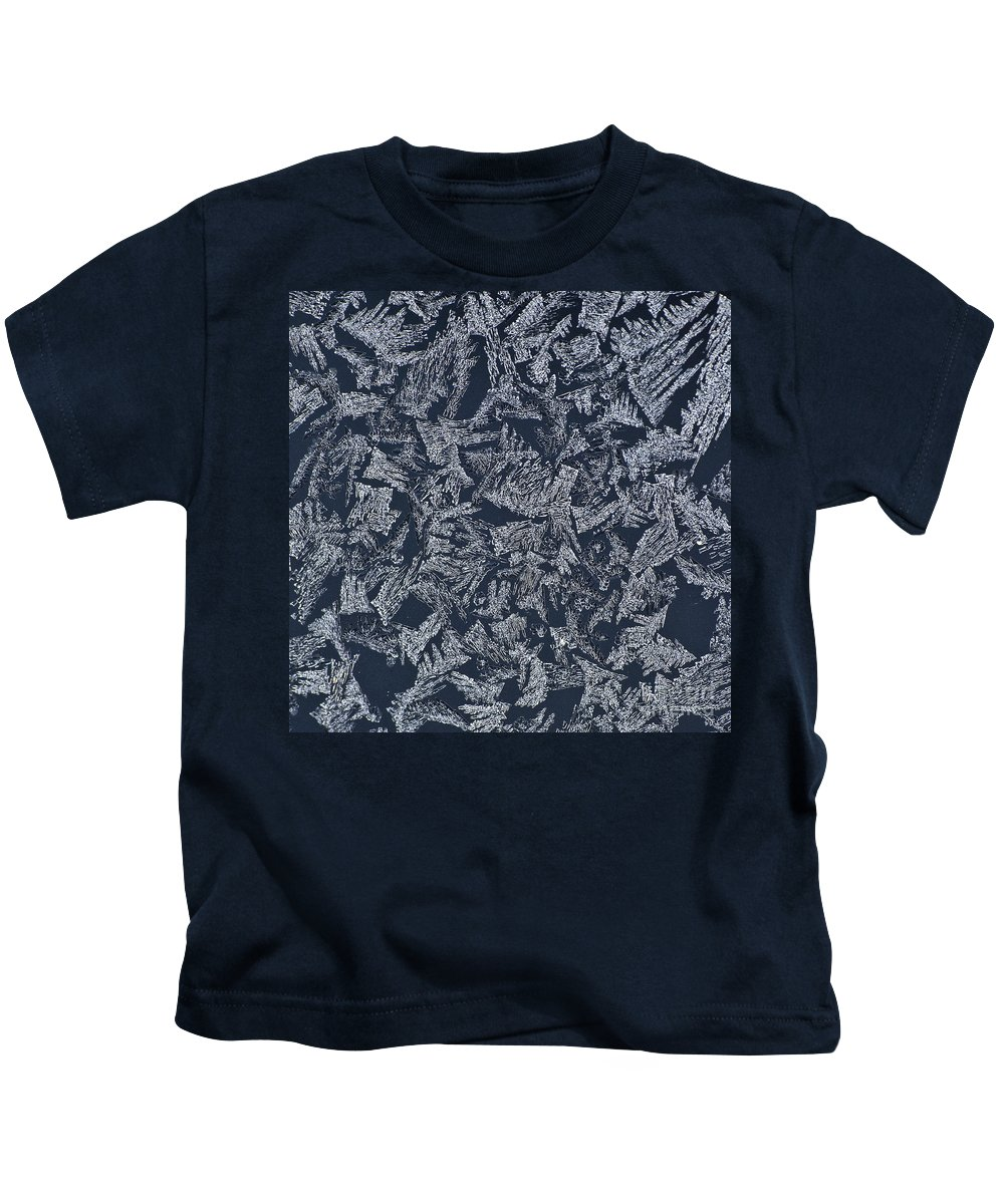 Ice Kids T-Shirt featuring the photograph Crystal 10 by Sabine Jacobs