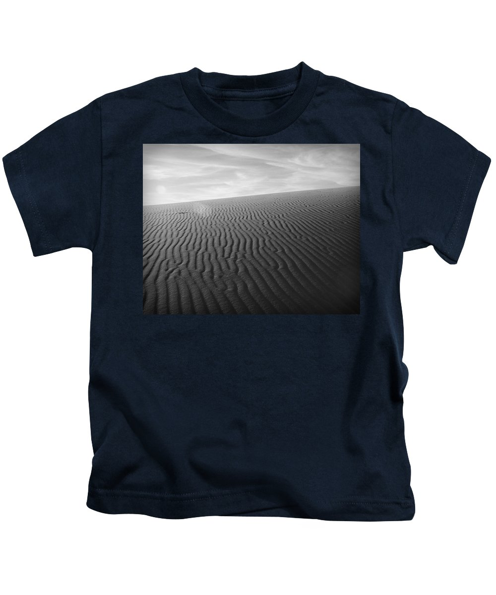 New Mexico Kids T-Shirt featuring the photograph Dunes 3 by Sean Wray