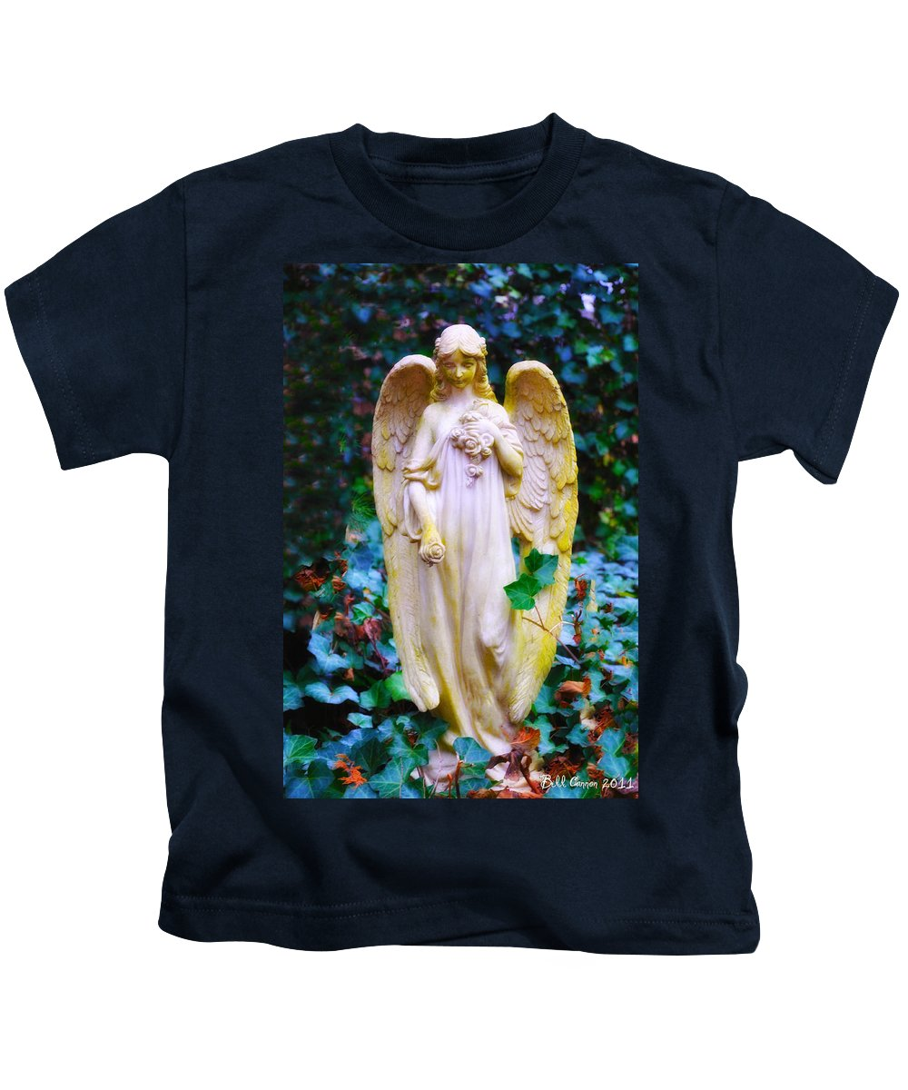 Earth Kids T-Shirt featuring the photograph Earth Angel by Bill Cannon