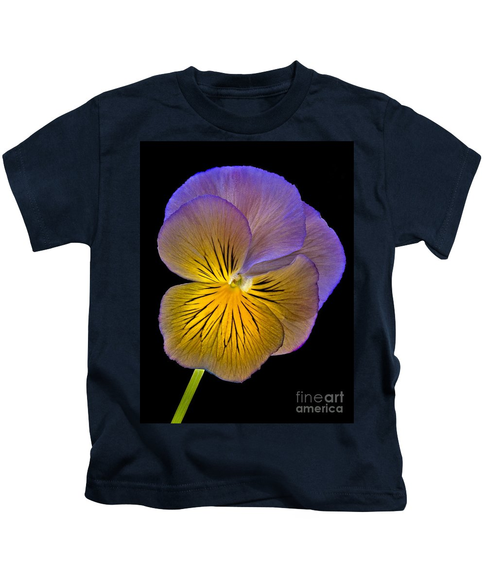 Peony Kids T-Shirt featuring the photograph Glowing Peony by Susan Candelario
