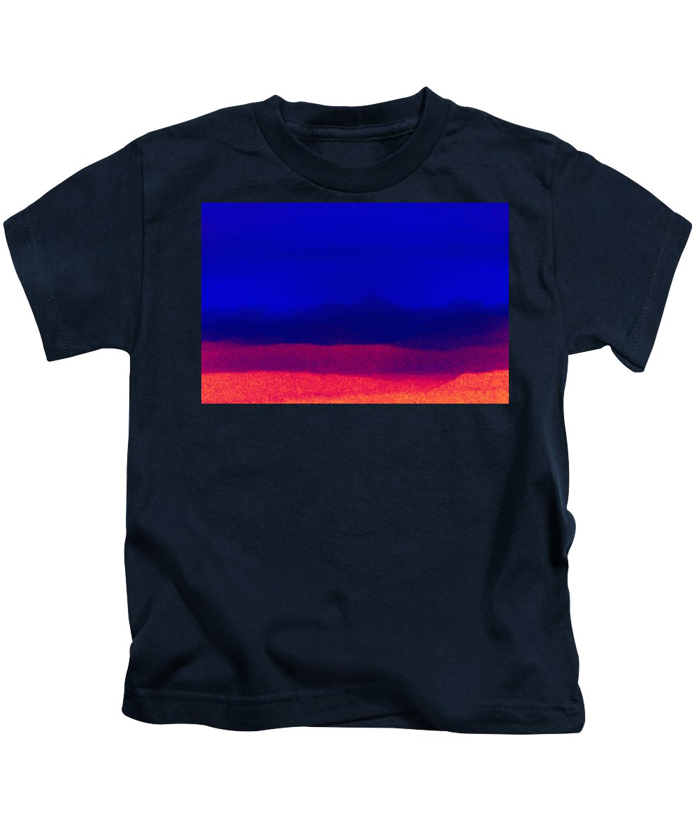 Surreal Kids T-Shirt featuring the photograph Horizons by Stephen Anderson