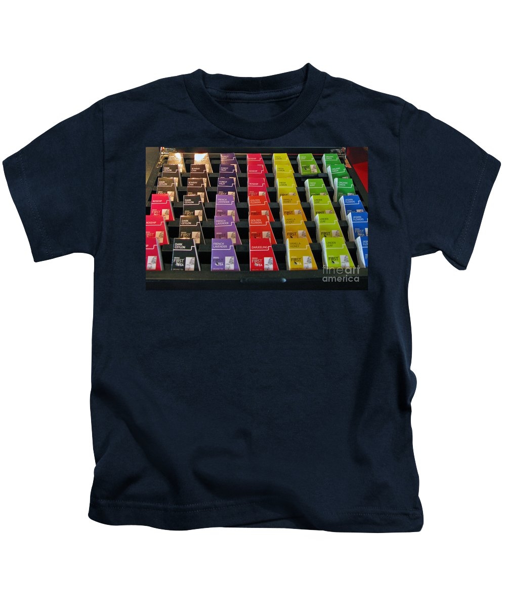Choice Kids T-Shirt featuring the photograph Make Your Choice. All Colors All Tastes. by Ausra Huntington nee Paulauskaite