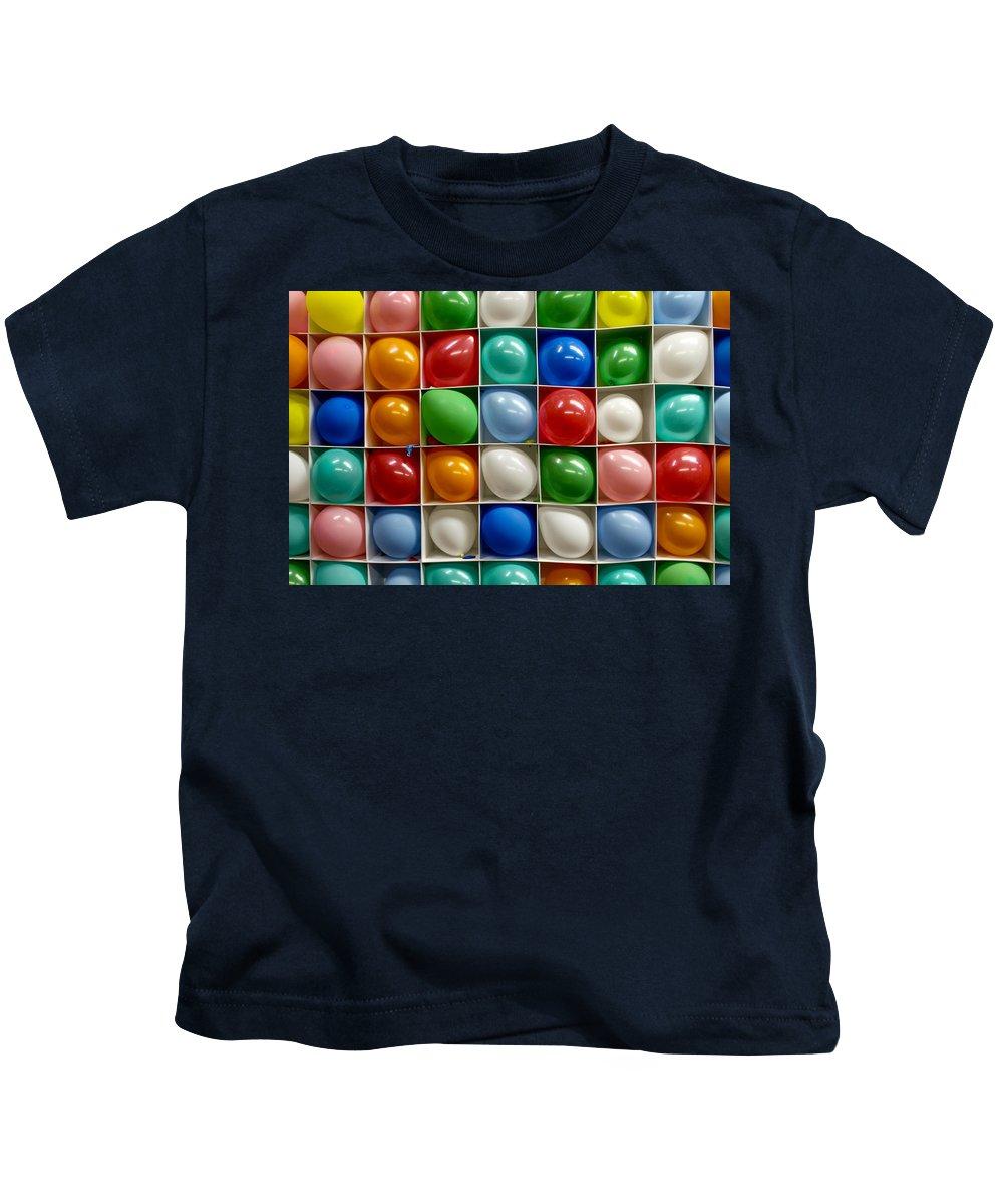 Balloon Kids T-Shirt featuring the photograph Pop A Balloon by Lauri Novak