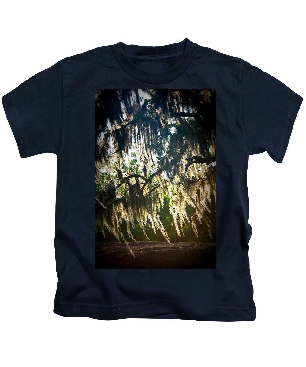 Spanish Kids T-Shirt featuring the photograph Spanish Moss by Beth Gates-Sully