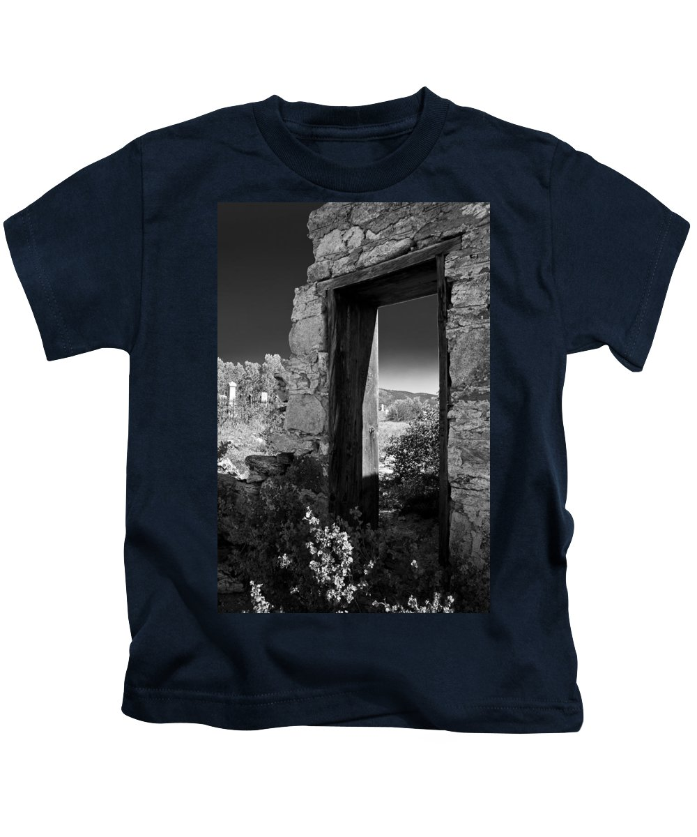 Cemetary Kids T-Shirt featuring the photograph Still Standing by Colleen Coccia