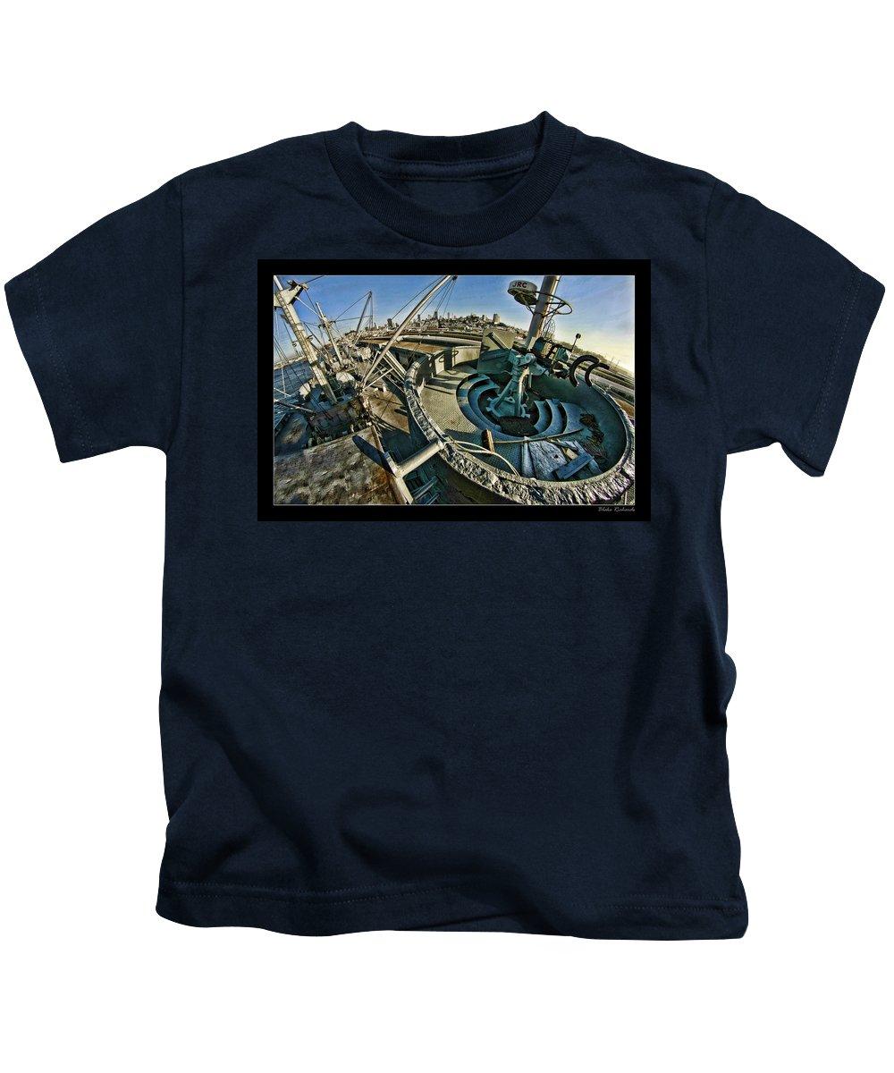Kids T-Shirt featuring the photograph The Machinegun Nest by Blake Richards