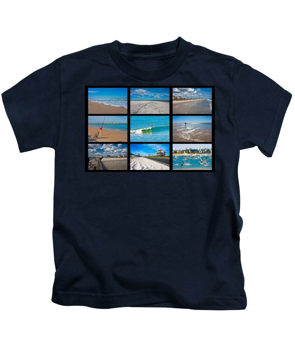 Topsail Kids T-Shirt featuring the photograph Topsail Island Images by Betsy Knapp