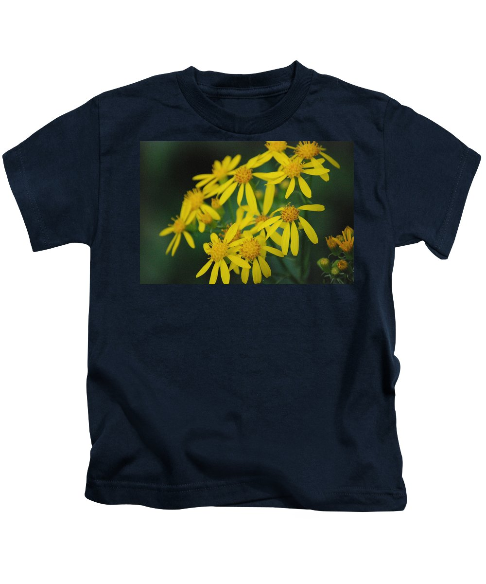 Flowers Kids T-Shirt featuring the photograph Yellow Flowers by Beth Gates-Sully