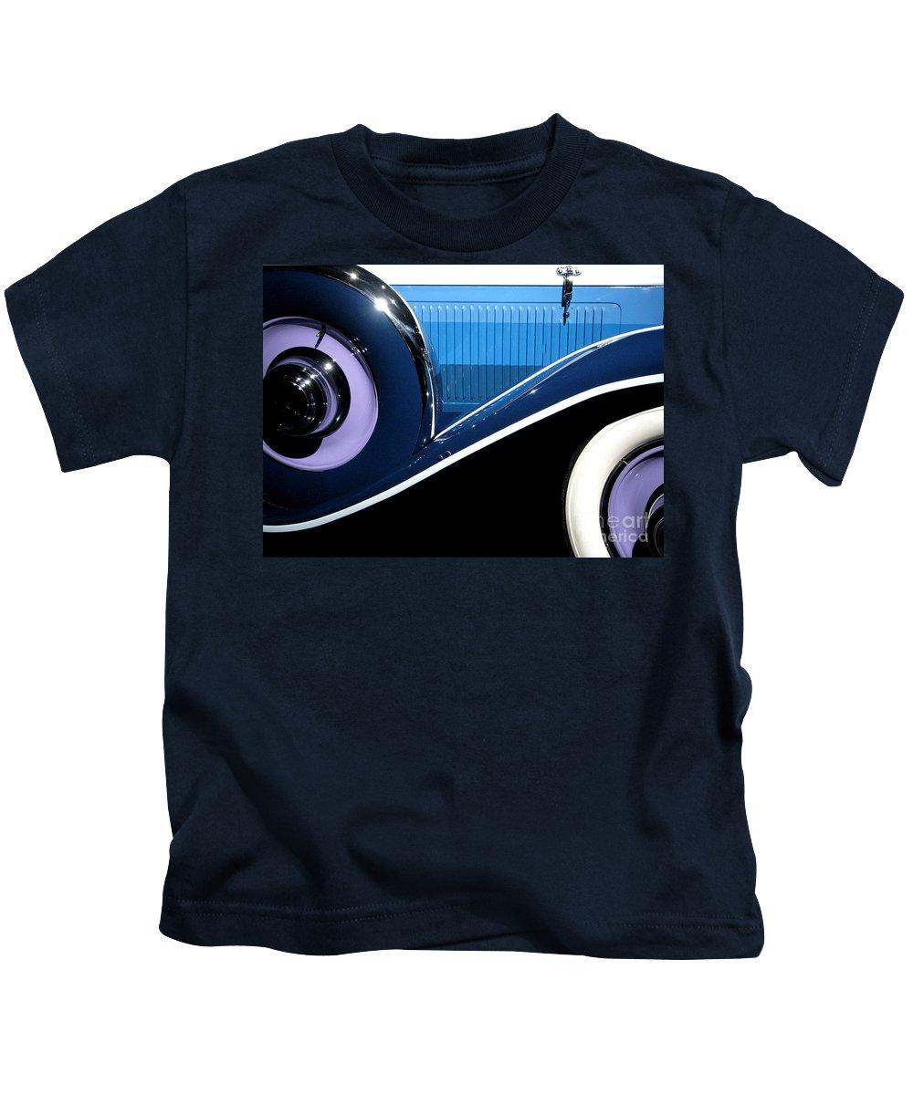 Cars Kids T-Shirt featuring the photograph You Drive Me Wild by Ellen Cotton