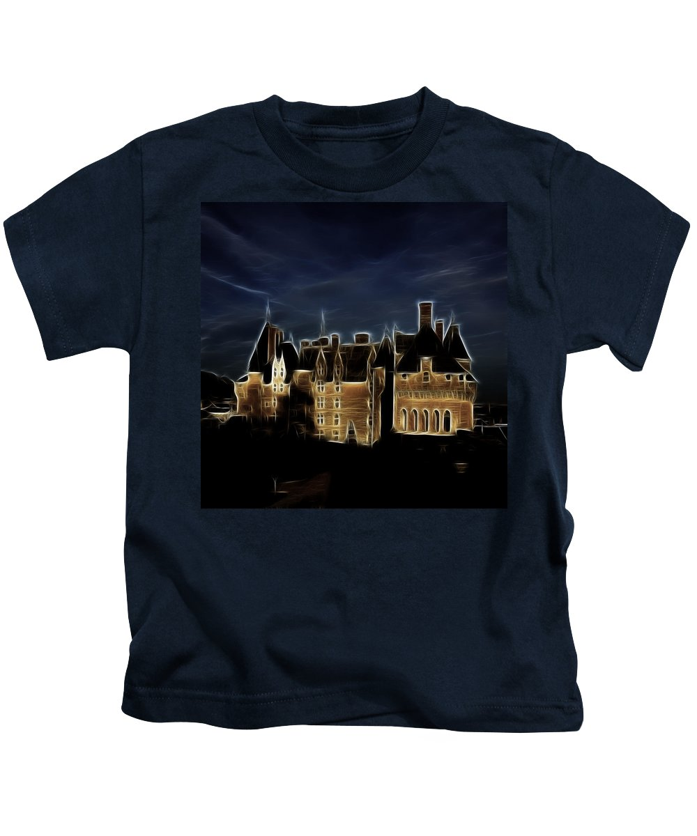 Chateau Kids T-Shirt featuring the photograph Chateau by Hugh Smith