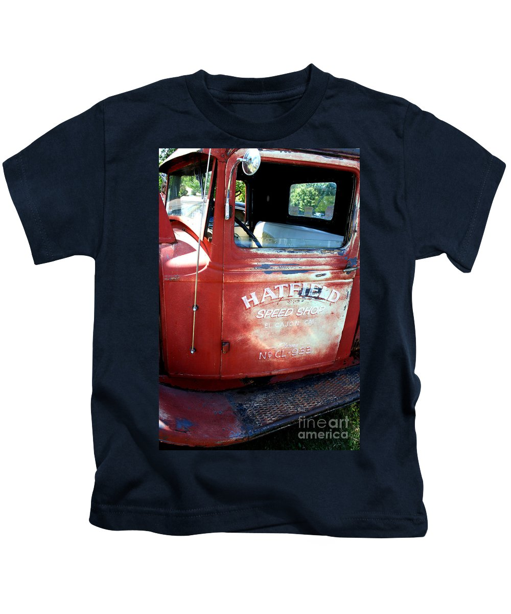 Port Washington Kids T-Shirt featuring the photograph I'ma Driven by Jamie Lynn