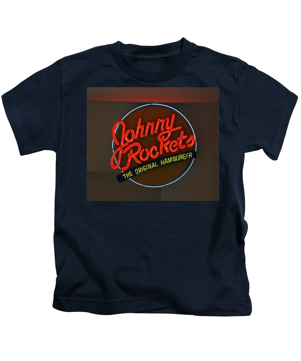 Macro Kids T-Shirt featuring the photograph Johnny Rockets by Rob Hans