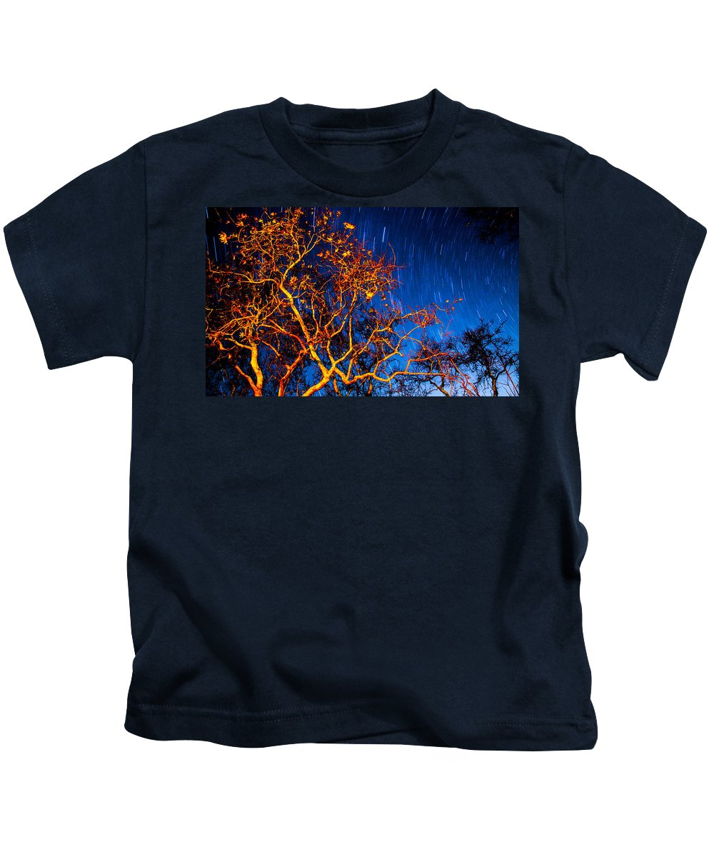 Kids T-Shirt featuring the photograph Ca Beach by Angus Hooper Iii