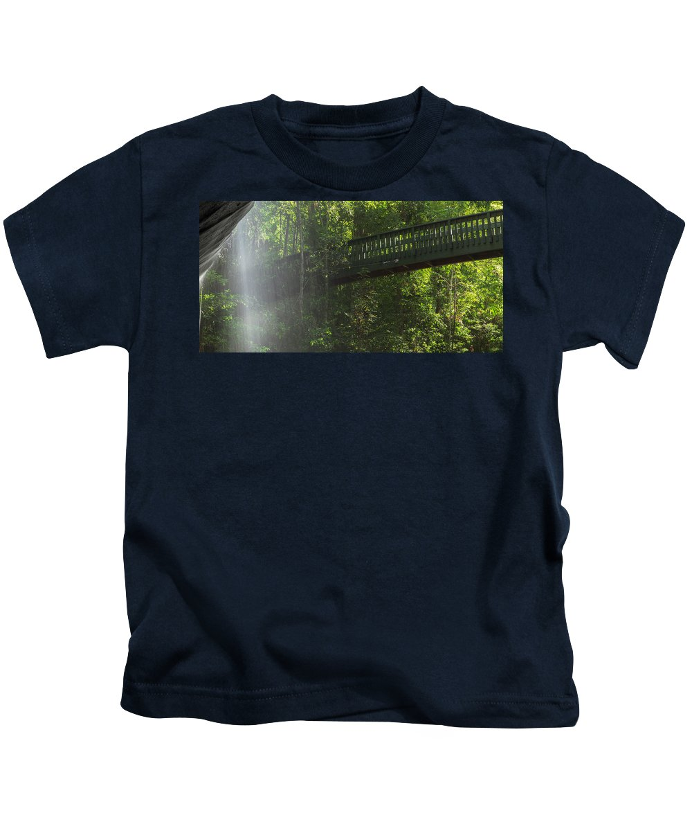 Australia Kids T-Shirt featuring the photograph Serenity Falls by Rob D