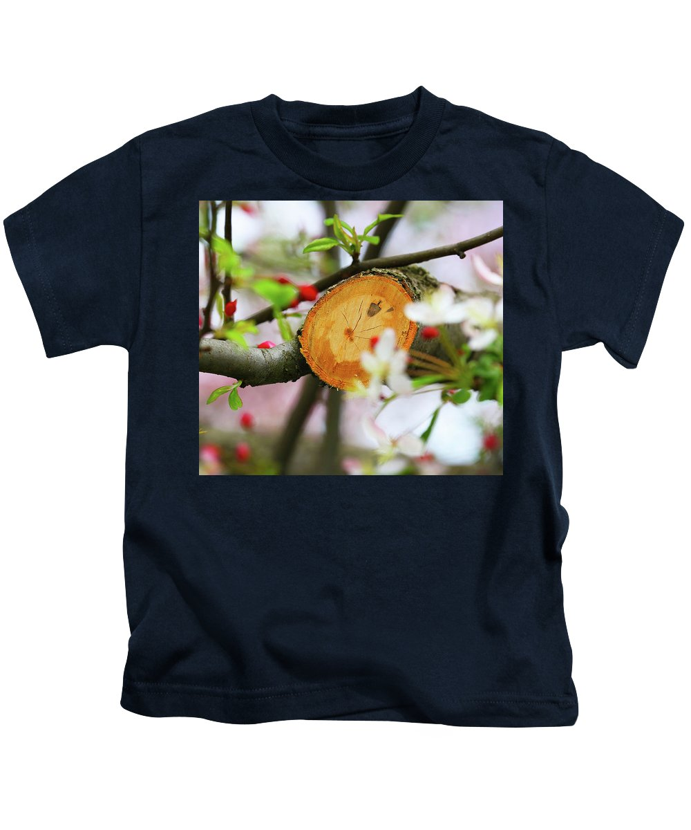 A New Start Kids T-Shirt featuring the photograph A New Start by Paul Ranky