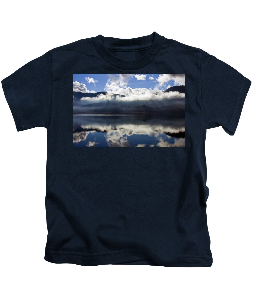 Heavenly Light Kids T-Shirt featuring the photograph Almost Heaven by Mike Dawson