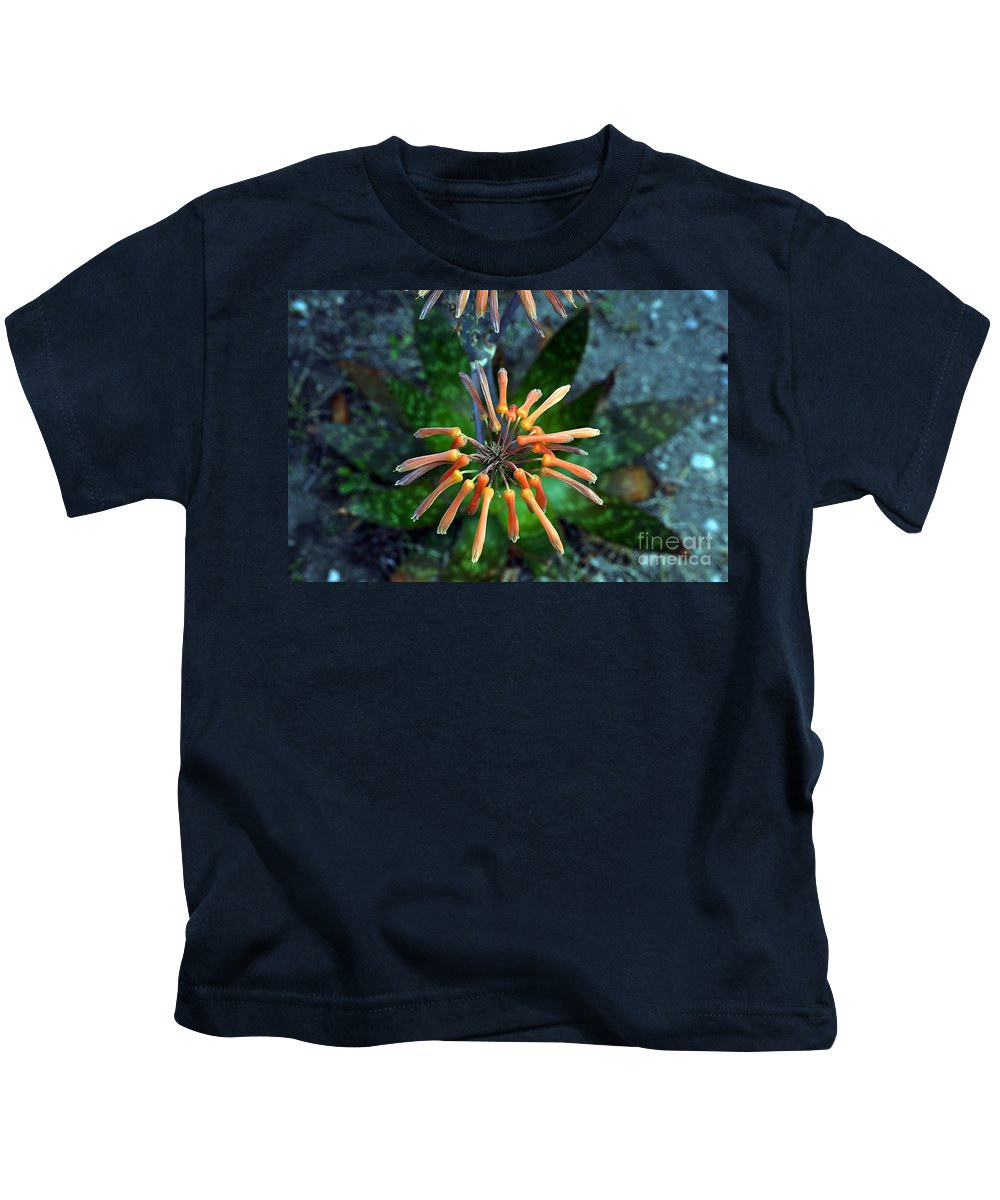 Clay Kids T-Shirt featuring the photograph Aloe Vera by Clayton Bruster