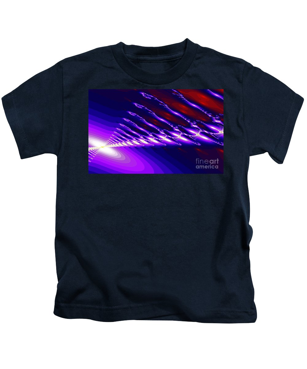 Clay Kids T-Shirt featuring the digital art Ambient Noise by Clayton Bruster