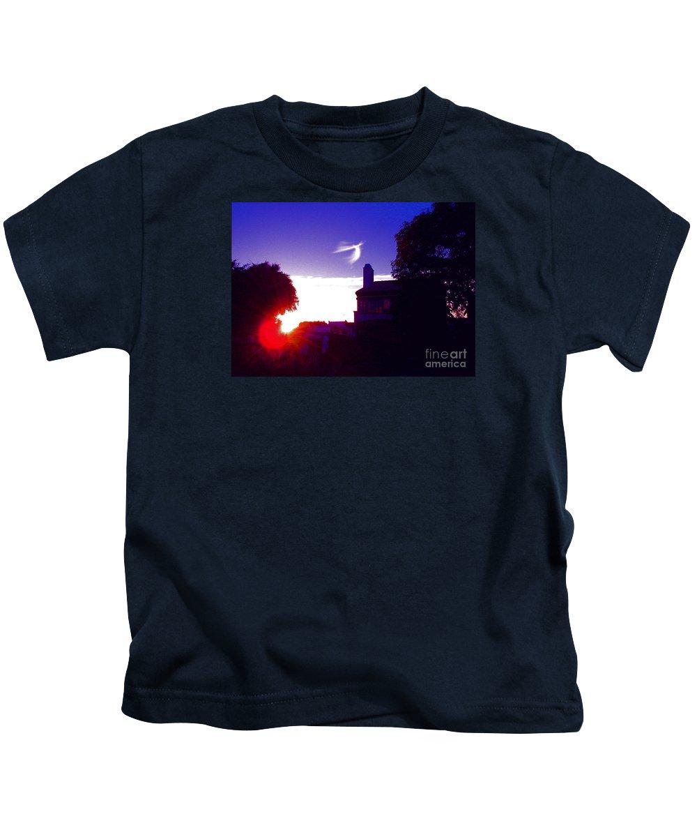 Angel Flight Kids T-Shirt featuring the photograph Angel Flight by Jerome Stumphauzer