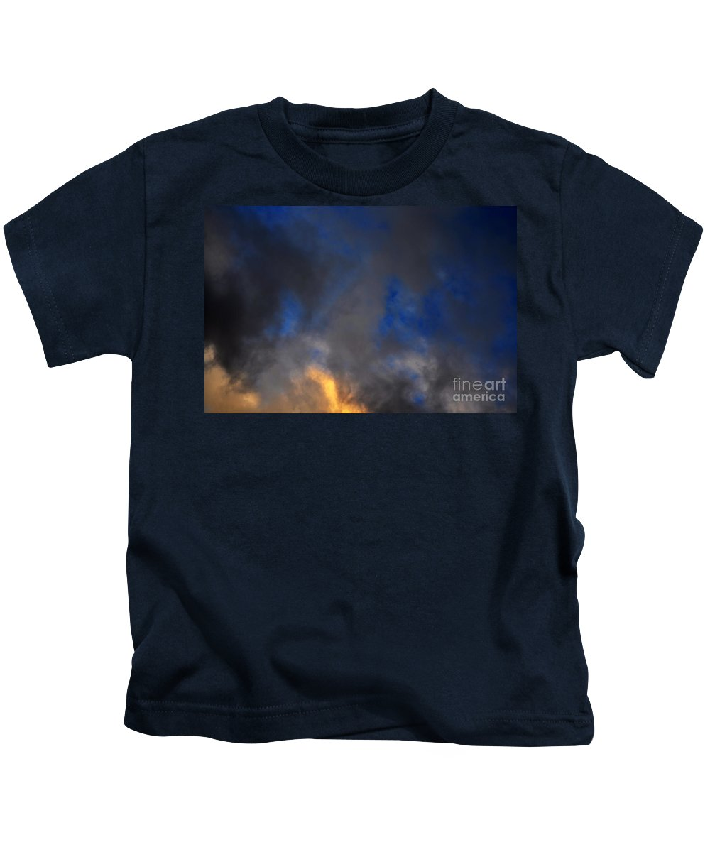 Clay Kids T-Shirt featuring the photograph Angry Sky by Clayton Bruster