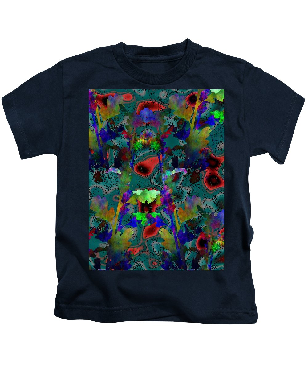 Arbor Kids T-Shirt featuring the digital art Arboreal Wonderment 3 by Tim Allen
