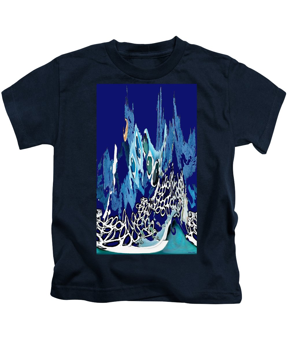 Arctic Sea Kids T-Shirt featuring the photograph Arctic Sea by Merja Waters