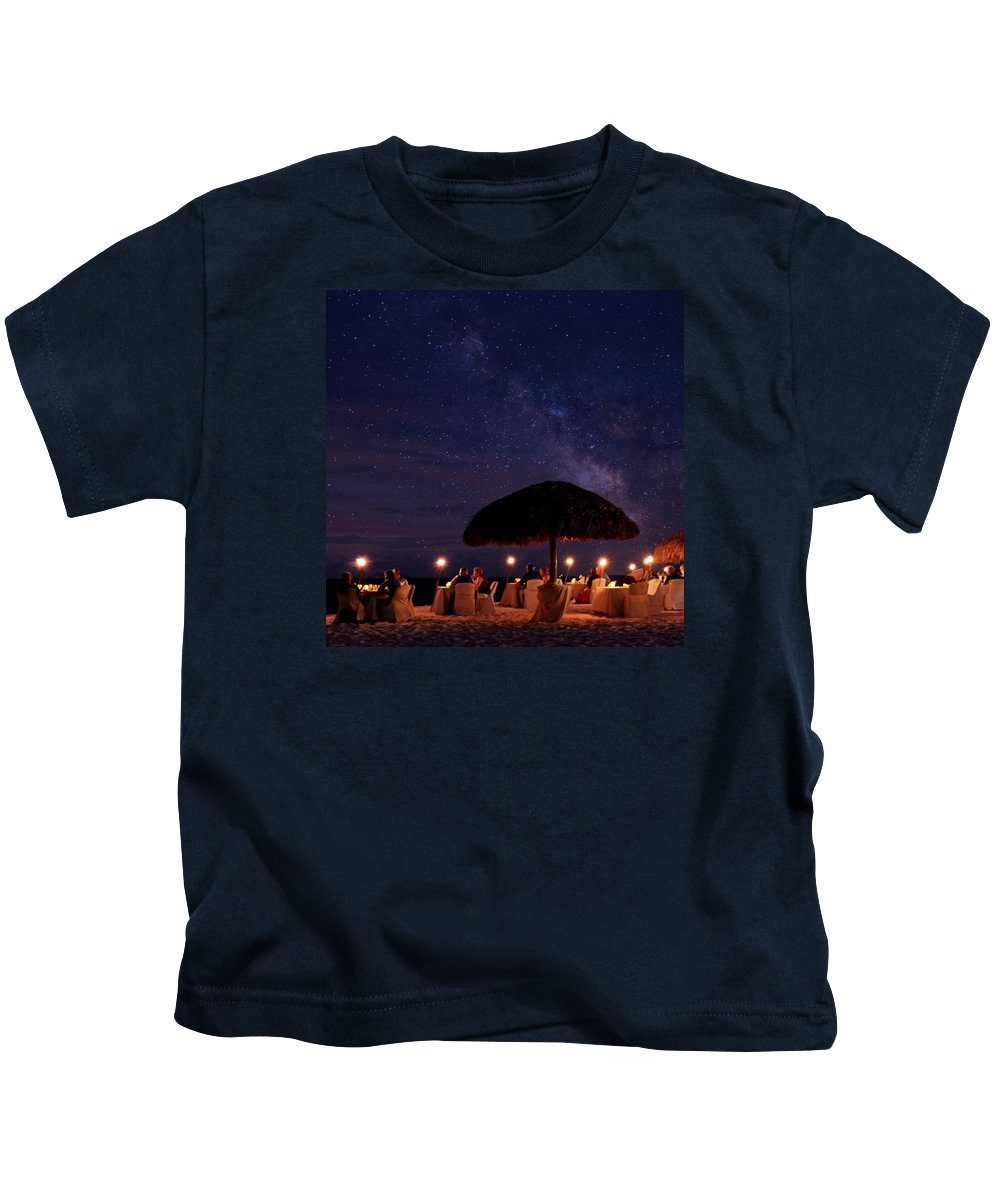 Long Exposure Kids T-Shirt featuring the photograph Atmosphere by DJ Florek
