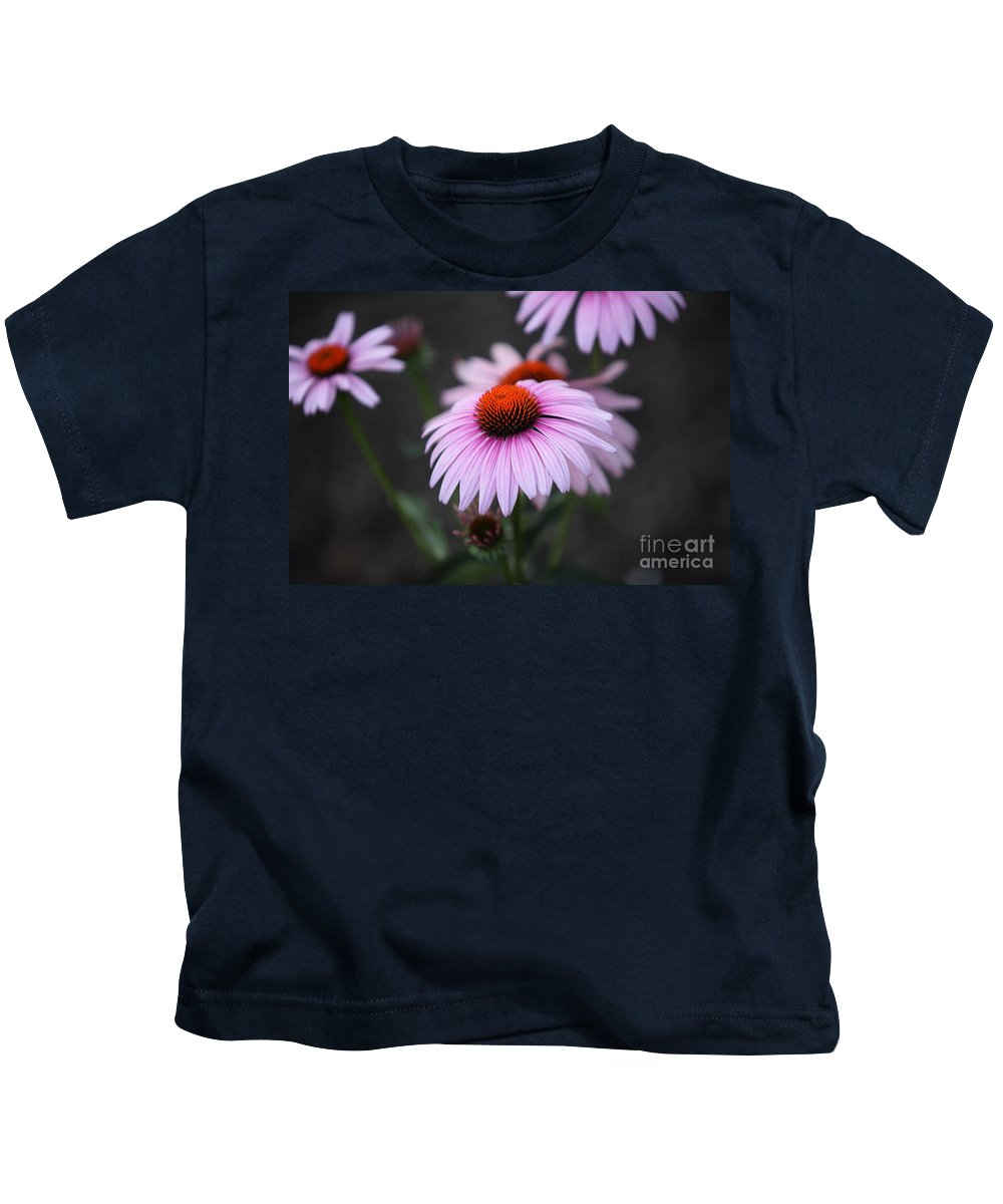 Alan Barcon Kids T-Shirt featuring the photograph Backyard Wonders by Amanda Barcon