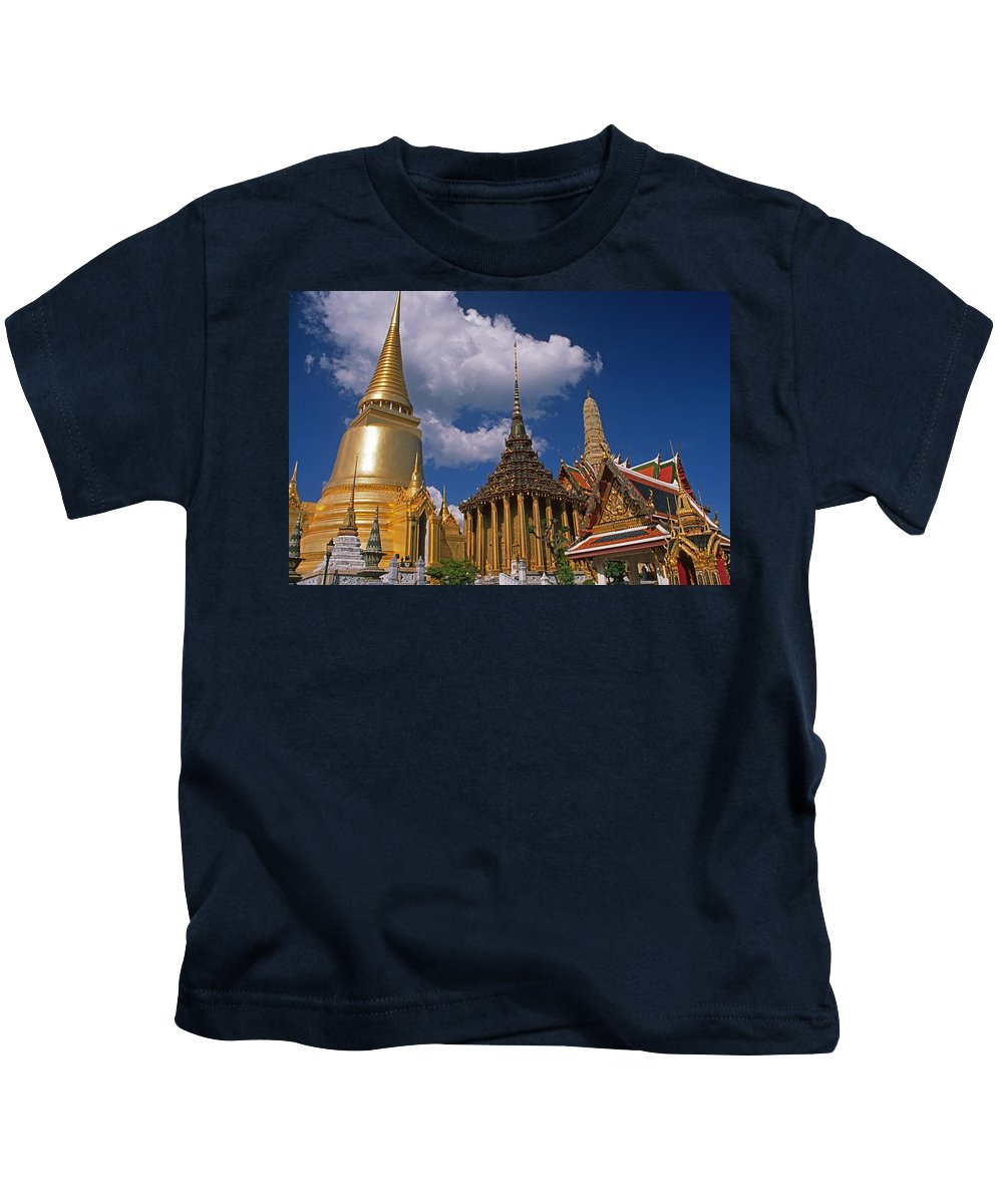 Asia Kids T-Shirt featuring the photograph Bangkok by Michele Burgess