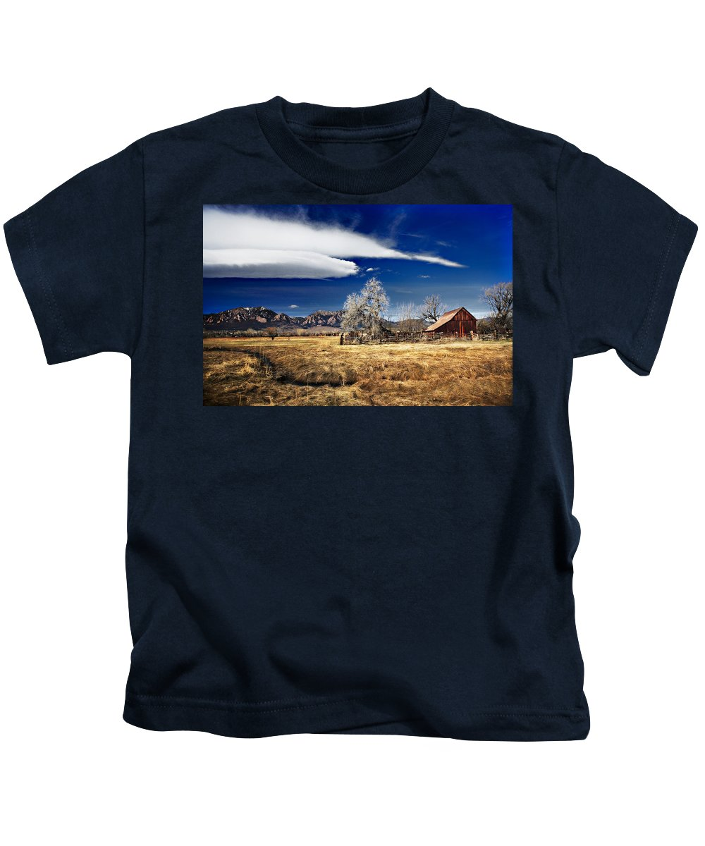 Colorado Kids T-Shirt featuring the photograph Beautiful Colorado by Marilyn Hunt