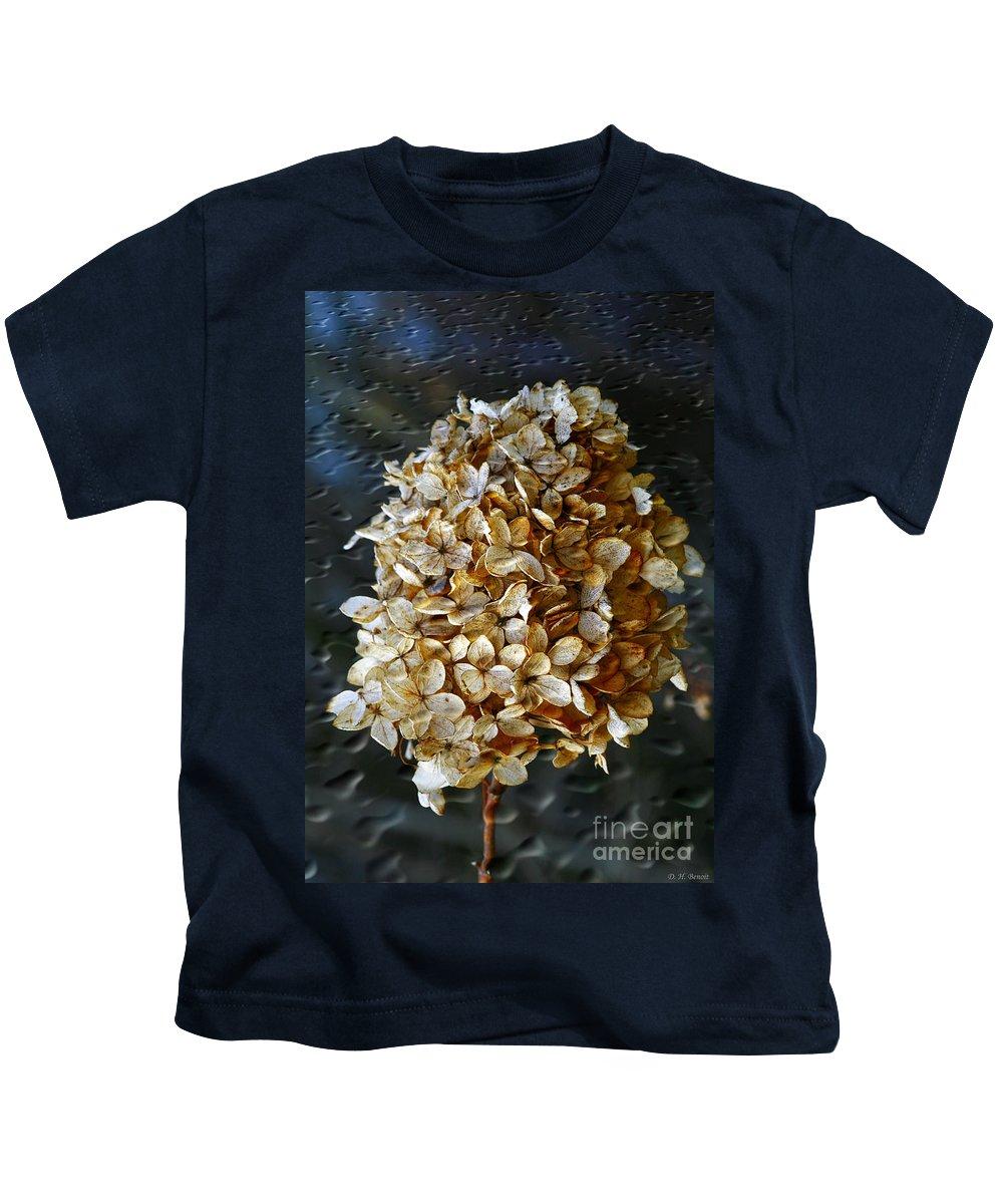 Flower Kids T-Shirt featuring the photograph Beauty Of Old by Deborah Benoit