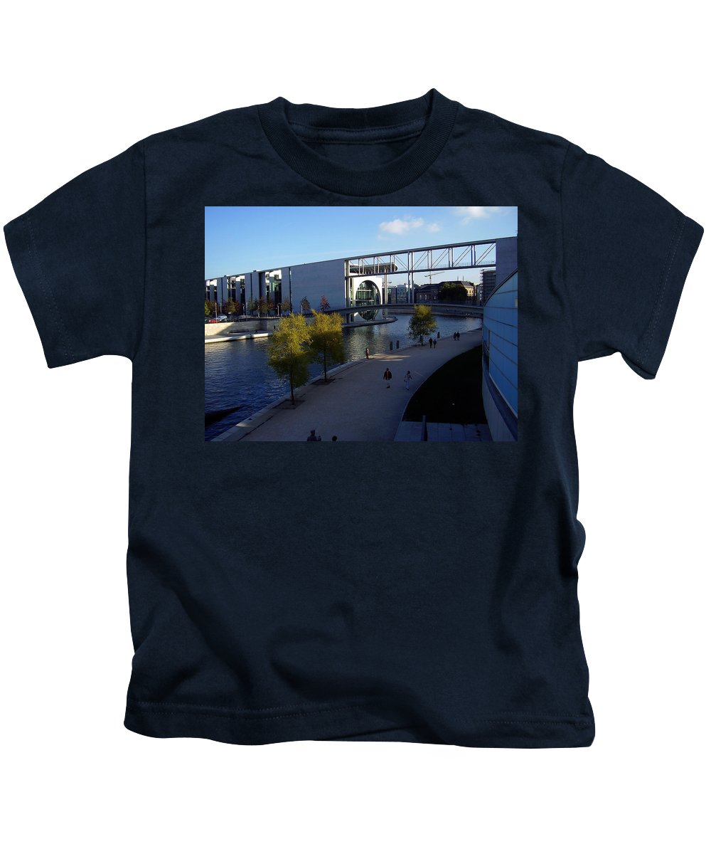 Paul-loebe Kids T-Shirt featuring the photograph Berlin II by Flavia Westerwelle
