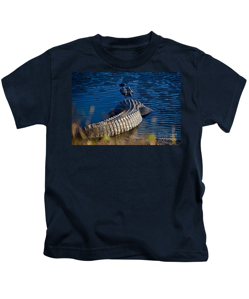 Florida Kids T-Shirt featuring the photograph Big Boy by Andrea Spritzer