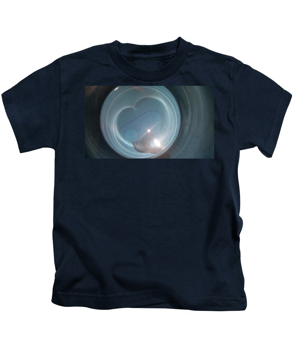 Abstract Kids T-Shirt featuring the photograph Blissful by Taina Hernandez