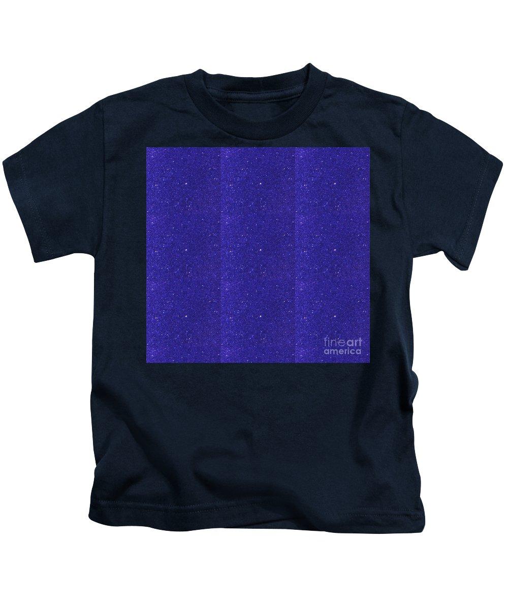 Blue Kids T-Shirt featuring the digital art Blue Sparkle Shade Texture Color Tone Pattern Created By Artist Navinjoshi At Fineartamerica.com Ele by Navin Joshi