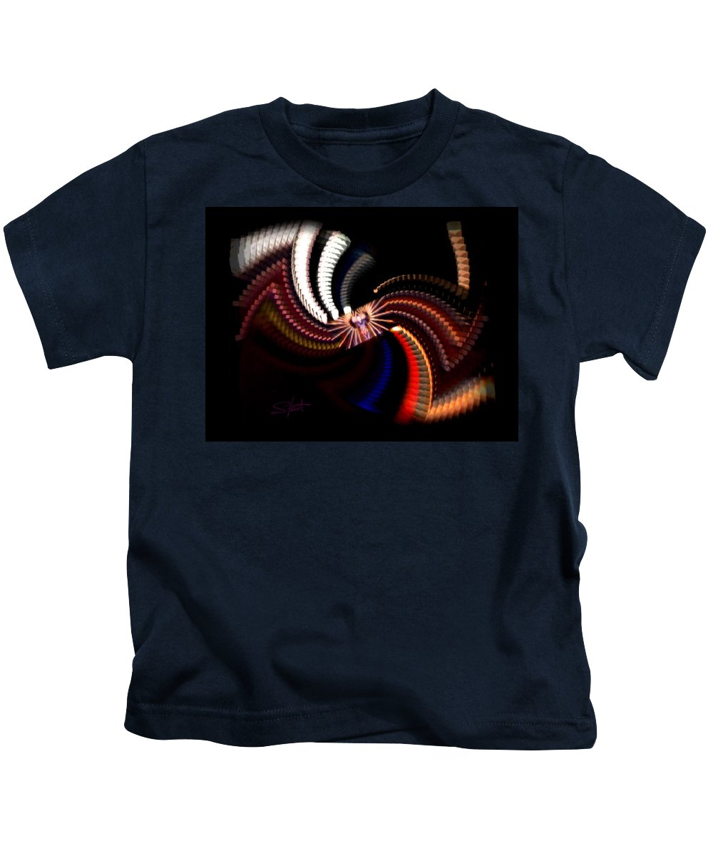 Chaos Kids T-Shirt featuring the photograph Bow Tie by Charles Stuart