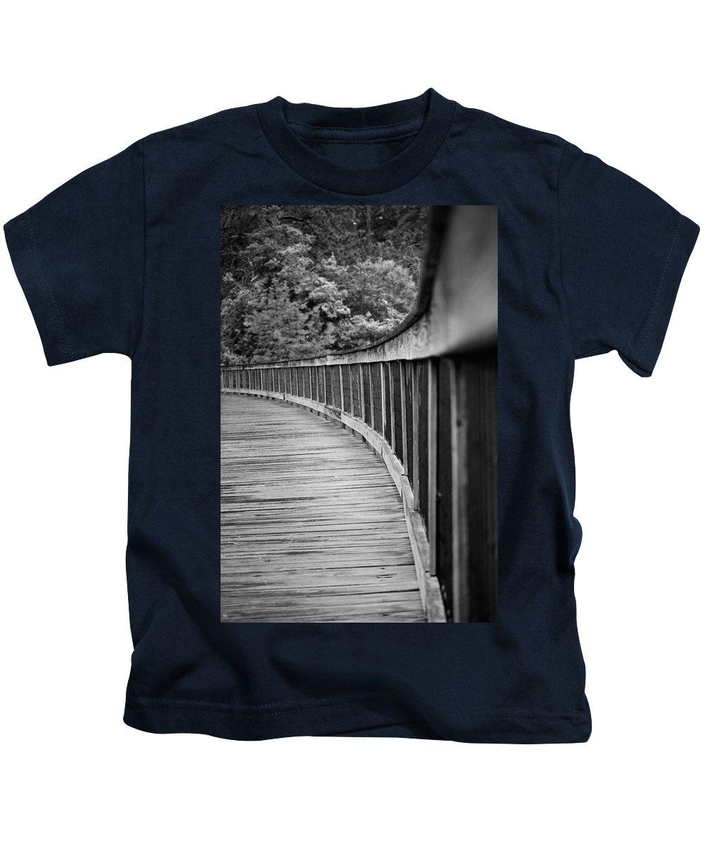 Bridge Kids T-Shirt featuring the photograph Bridge At Calloway II by Robert Meanor