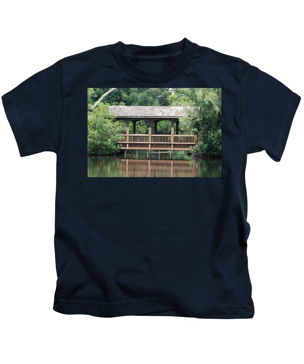 Architecture Kids T-Shirt featuring the photograph Bridges Of Miami Dade County by Rob Hans