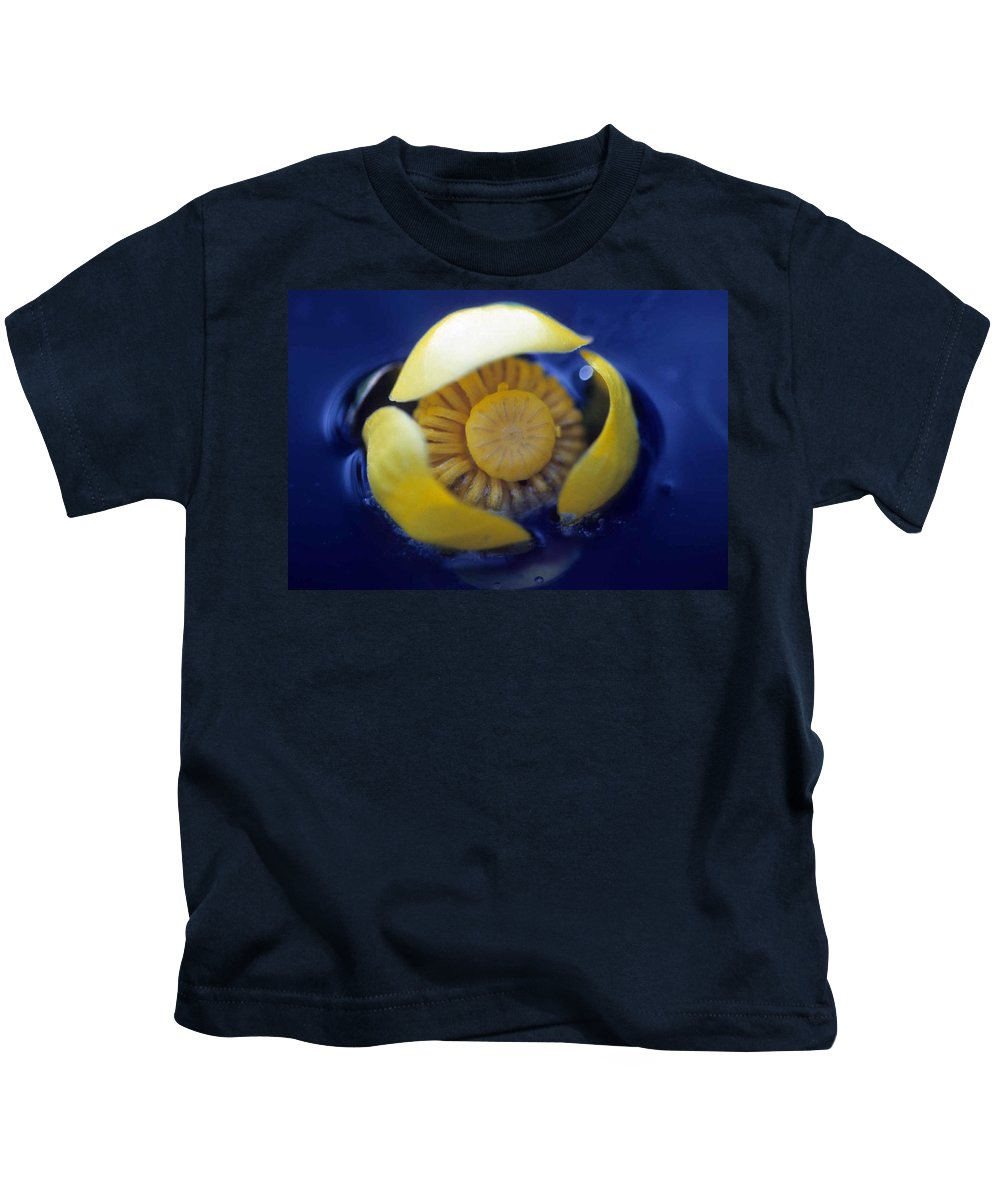 Lily Kids T-Shirt featuring the photograph Bull Lily by Laurie Paci