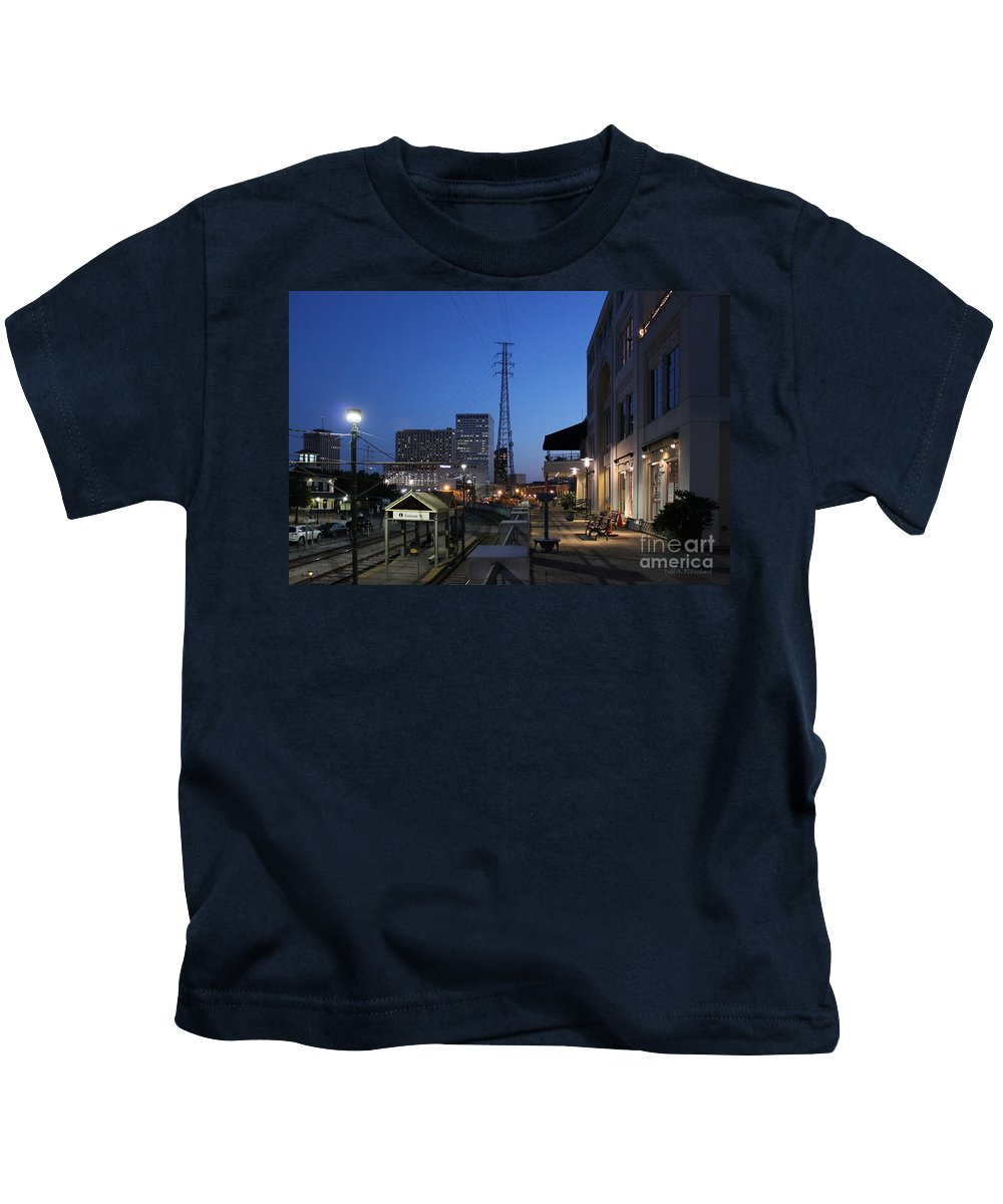 Architecture Kids T-Shirt featuring the photograph By The Docks by Todd Blanchard