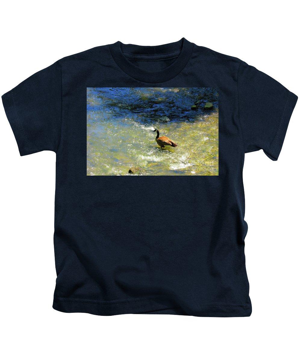 Park Wildlife Kids T-Shirt featuring the photograph Wildlife Scenes #3 by Jarryl Bhagwat