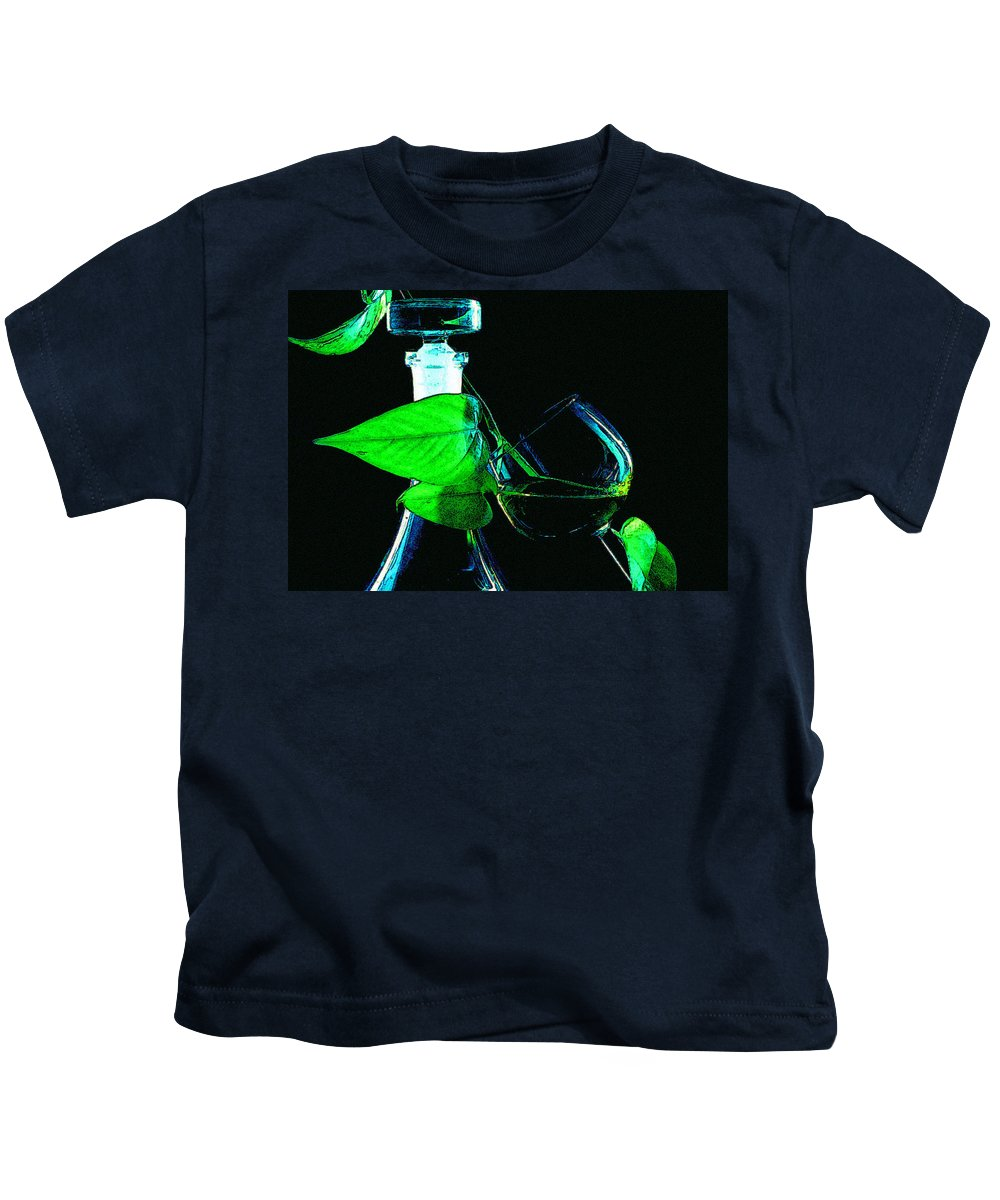 Captains Decanter Kids T-Shirt featuring the photograph Captains Decanter by Paul Wear